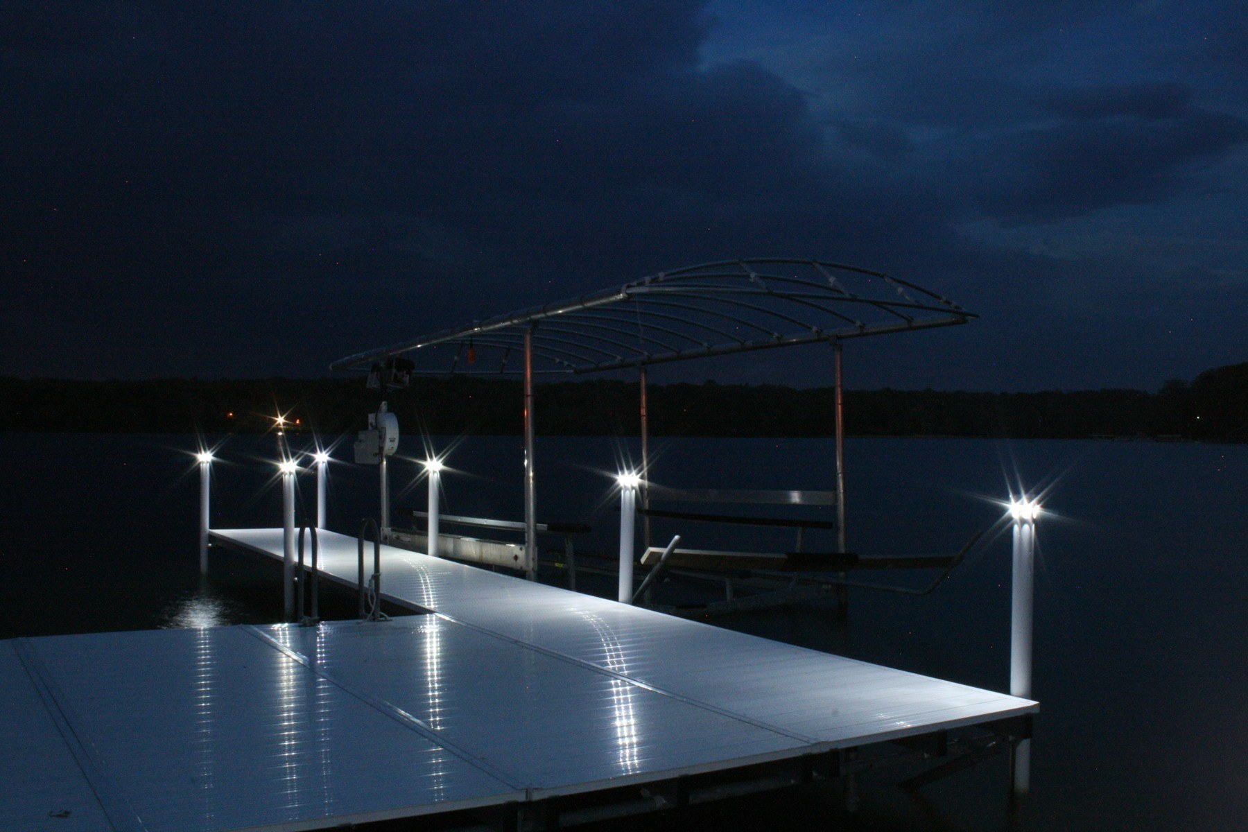 Solar Underglow Lights For Brock Docks View All Lake