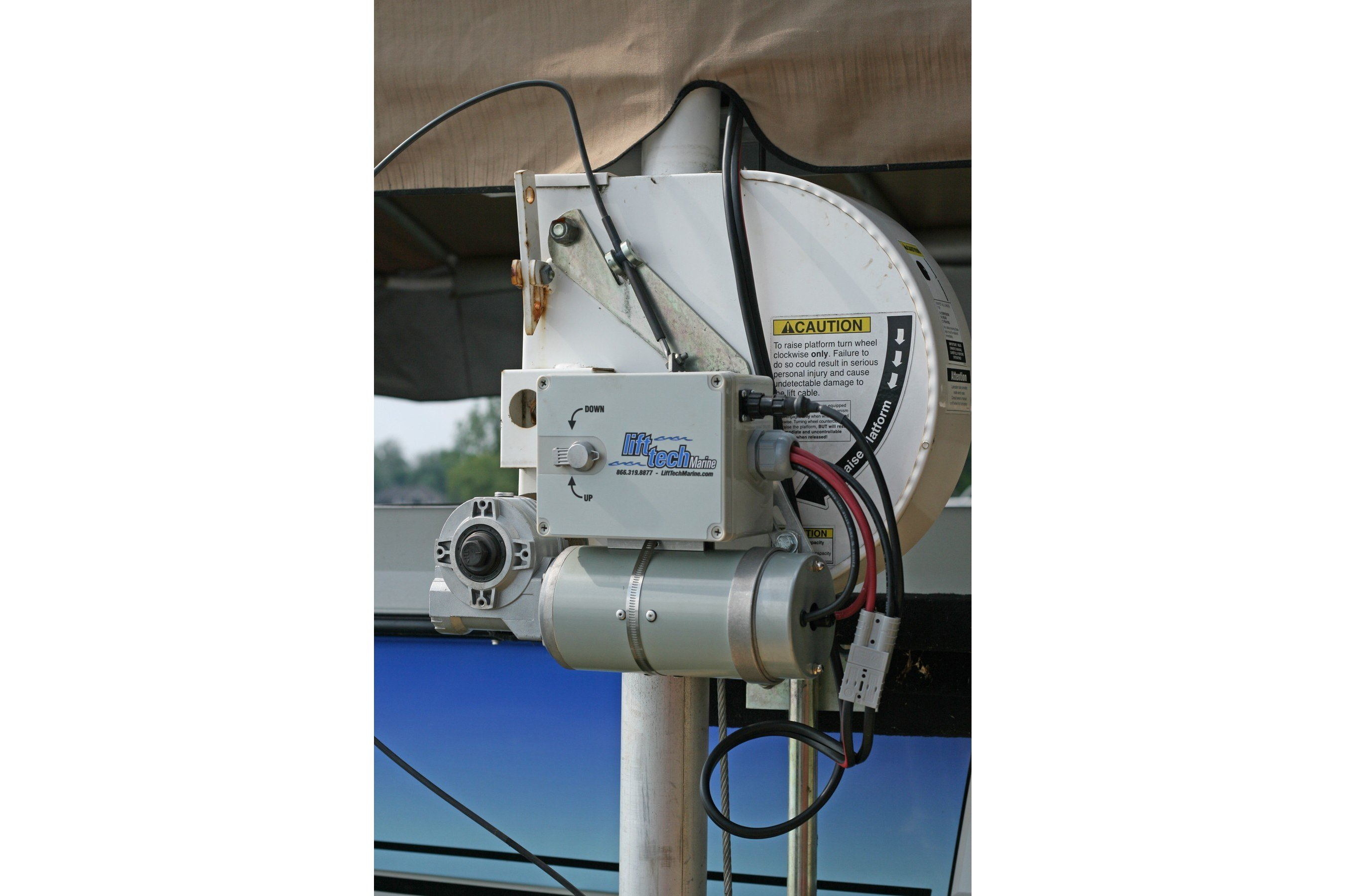 Dc Direct Drive Boat Lift Motor With Pendant Switch