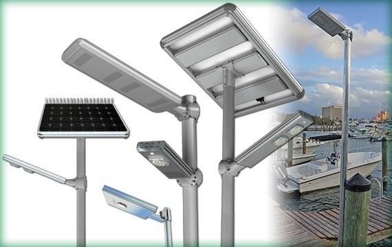 Solar Courtyard Lighting