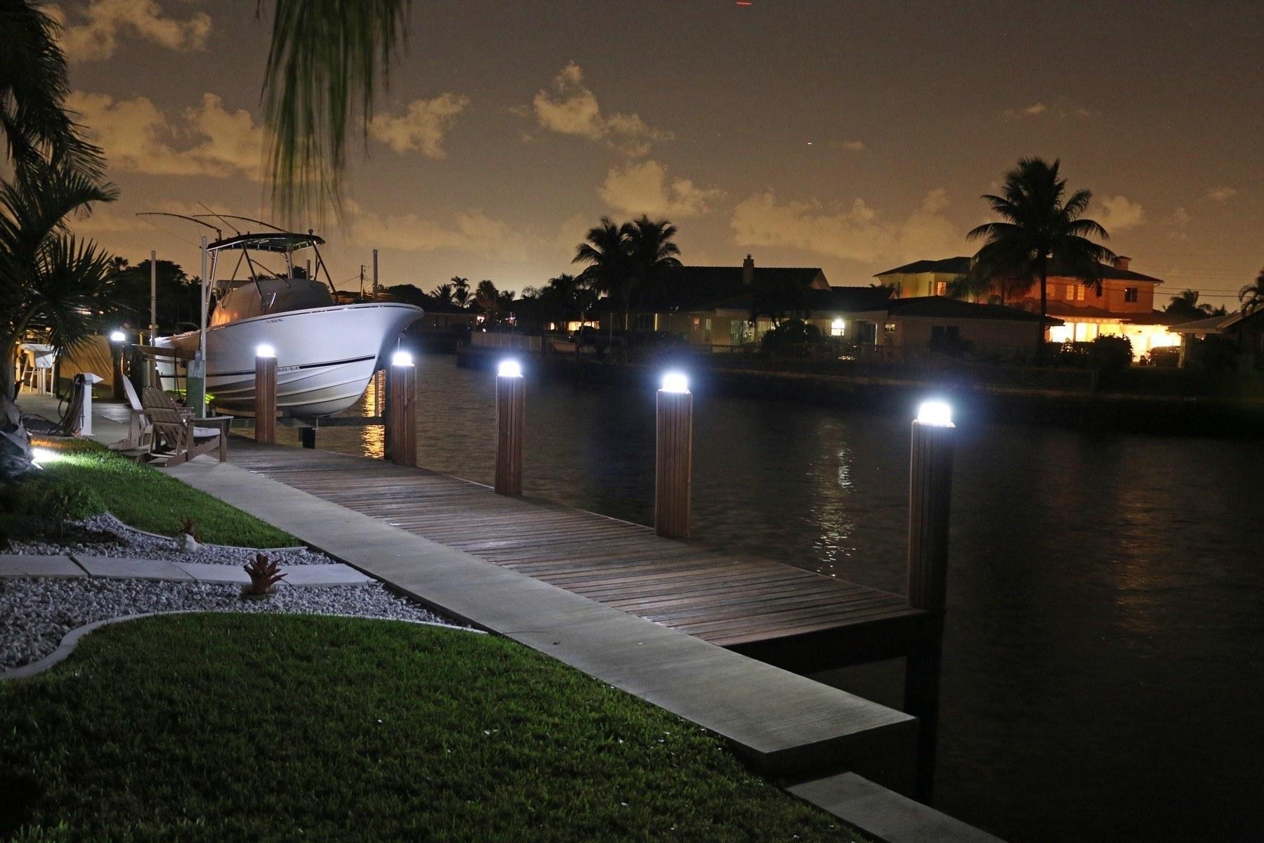Solar Piling Light Street Lightsolar Led With 12 24v Circuitsolar Black 3 Color Switchable