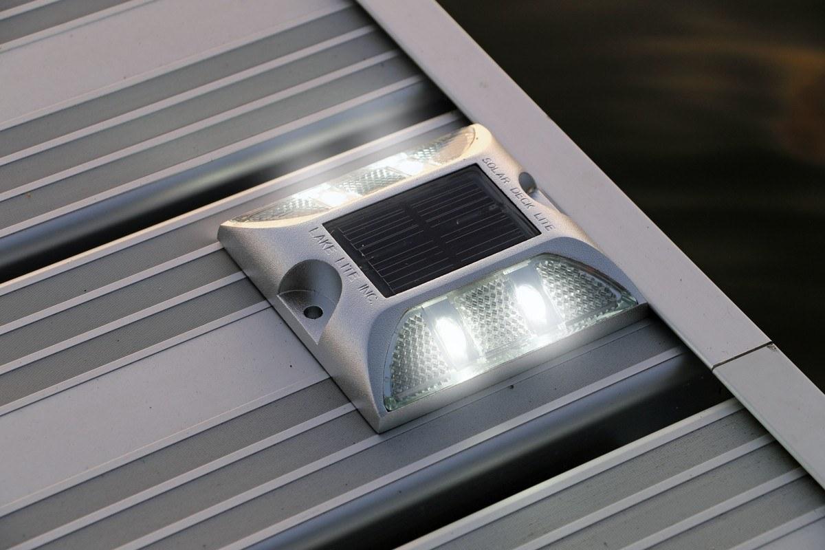 Waterproof Solar Deck Lights