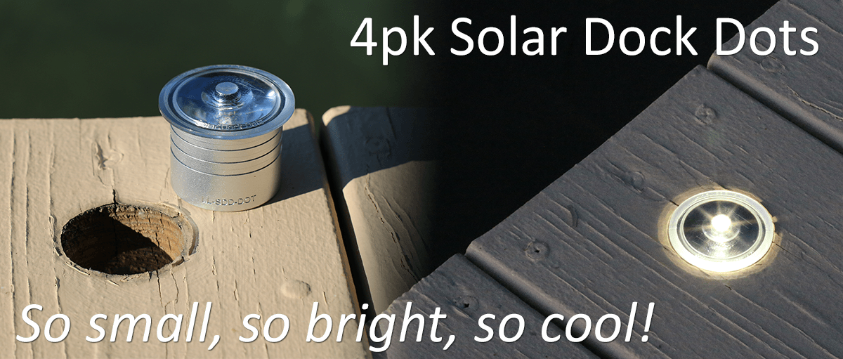 solar lights for docks