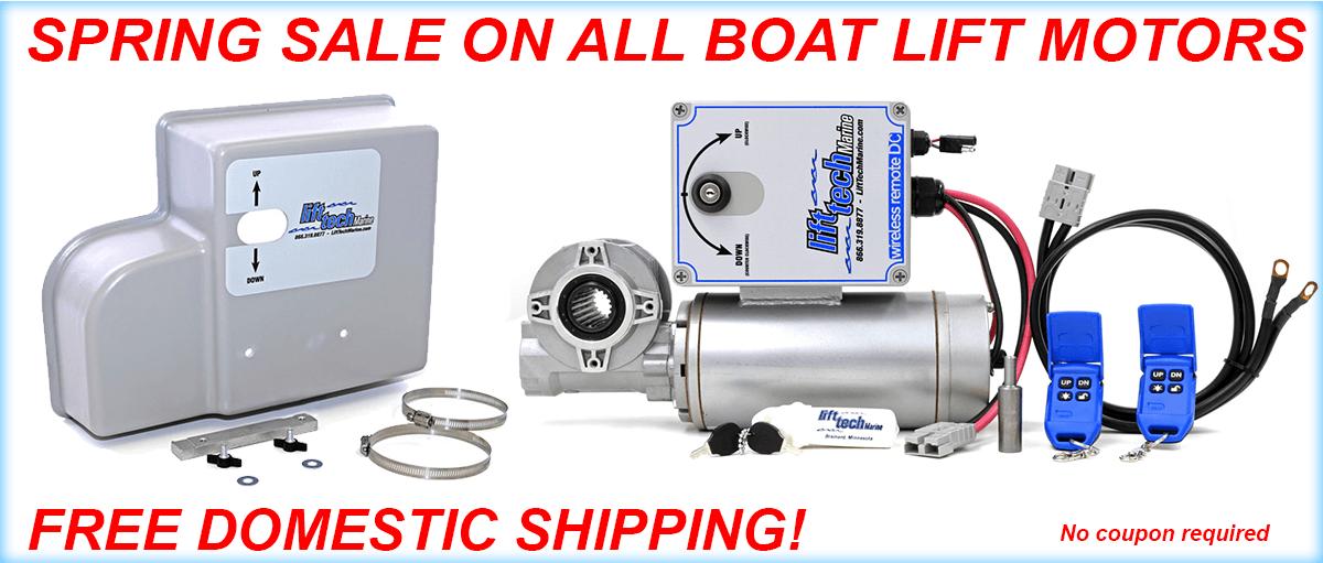 Boat Lift Motor Sale