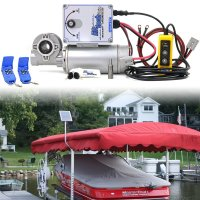 12v Direct Drive Boat Lift Motor + 15w 12v SCP