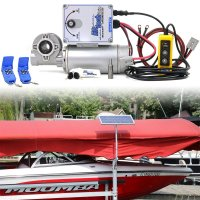 24v Direct Drive Boat Lift Motor + 20w-24v Boat Lift Charging Kit