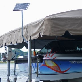 12v Boat Lift Solar Charging Kits - Lake Lite Inc