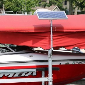 24v Boat Lift Solar Charging Kits - Lake Lite