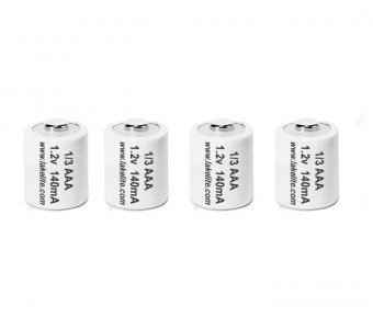 4 Pack 1/3 Size AAA Rechargeable Batteries