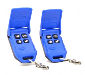 Replacement Wireless Key Fobs (1-pair) for Lift Tech Remote Direct Drive Motors