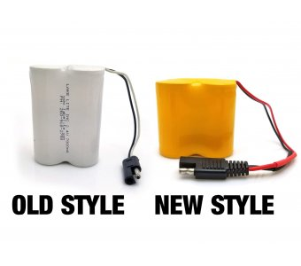 2.4v Battery Pack With Plug