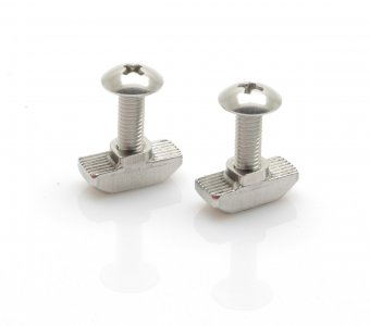 2pk Deck Light Universal Wing Nut + Bolt