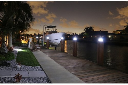 Solar Piling Light - 3 Color LED Switchable