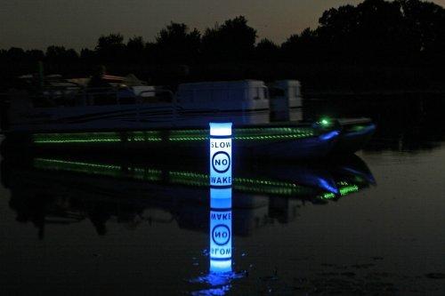 Solar Illuminating Buoy