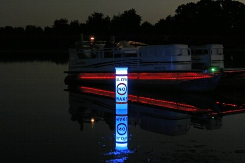 Solar Illuminating Buoy