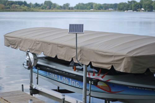 5w-12v Boat Lift Solar Charging Kit