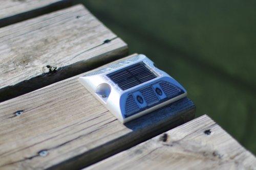 Solar Deck Lights daytime close up