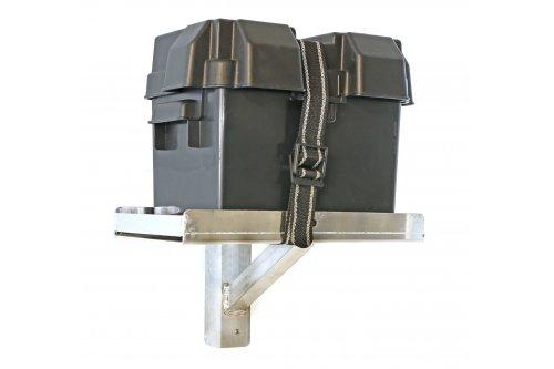 Single Universal Boat Lift Battery Tray