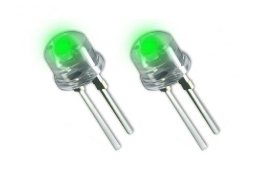2pk COLOR LEDs For Solar Dock Post Lites