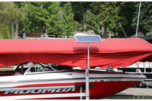 20w-24v Boat Lift Solar Charging Kit