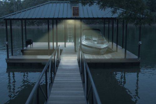 Boat House Solar Add-On Light