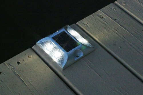 Solar Deck Lights 6pk