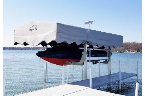 15w-12v Boat Lift Solar Charging Kit