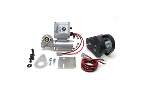 12v Direct Drive PWC Lift Motor + Dutton Lainson 1500 lbs Winch + 10w-12v PWC Lift Charging Kit