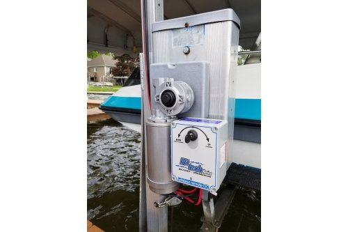 DC - Direct Drive Boat Lift Motor + Auto Stop + Remote + Bluetooth Technology (NEW 2020)